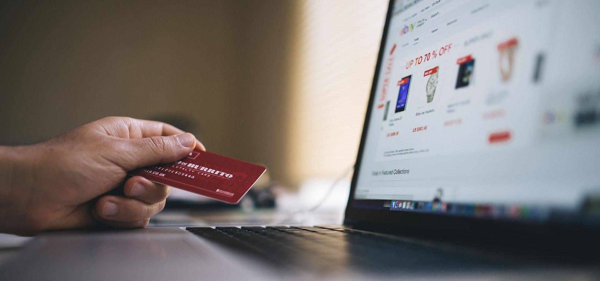 Comercio electrónico <span>Tienda virtual</span>