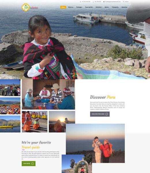 Peru Andes Travel